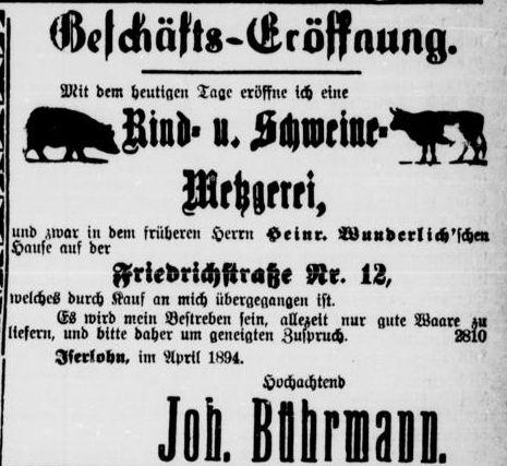 Zeitung 1894